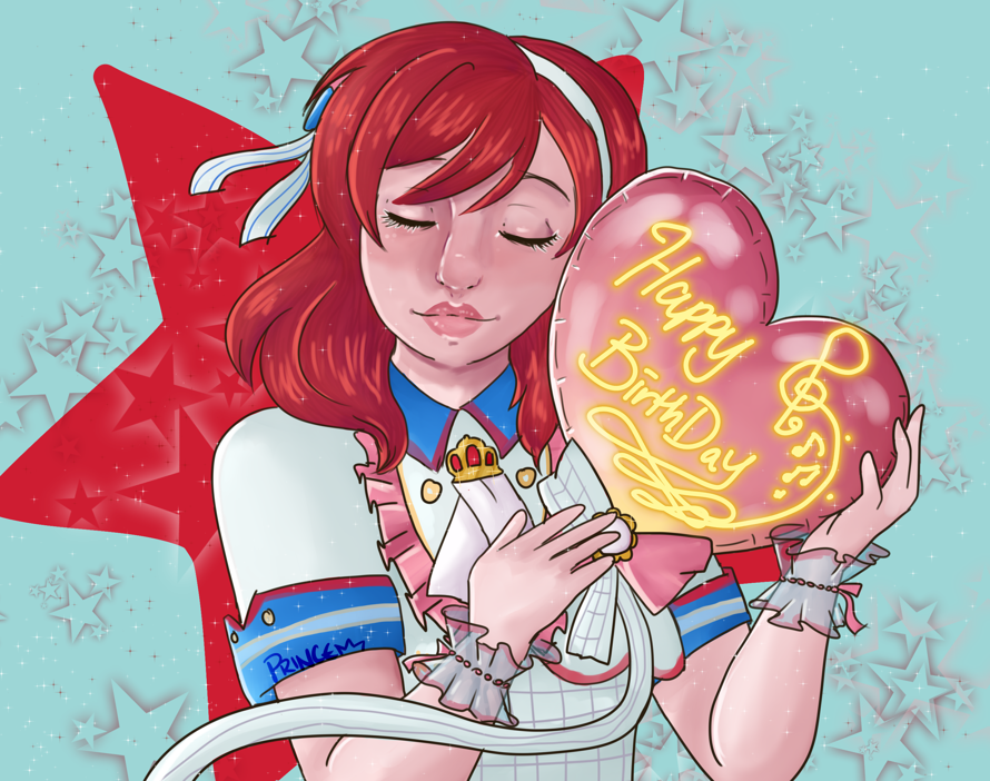 Happy birthday Maki chan!