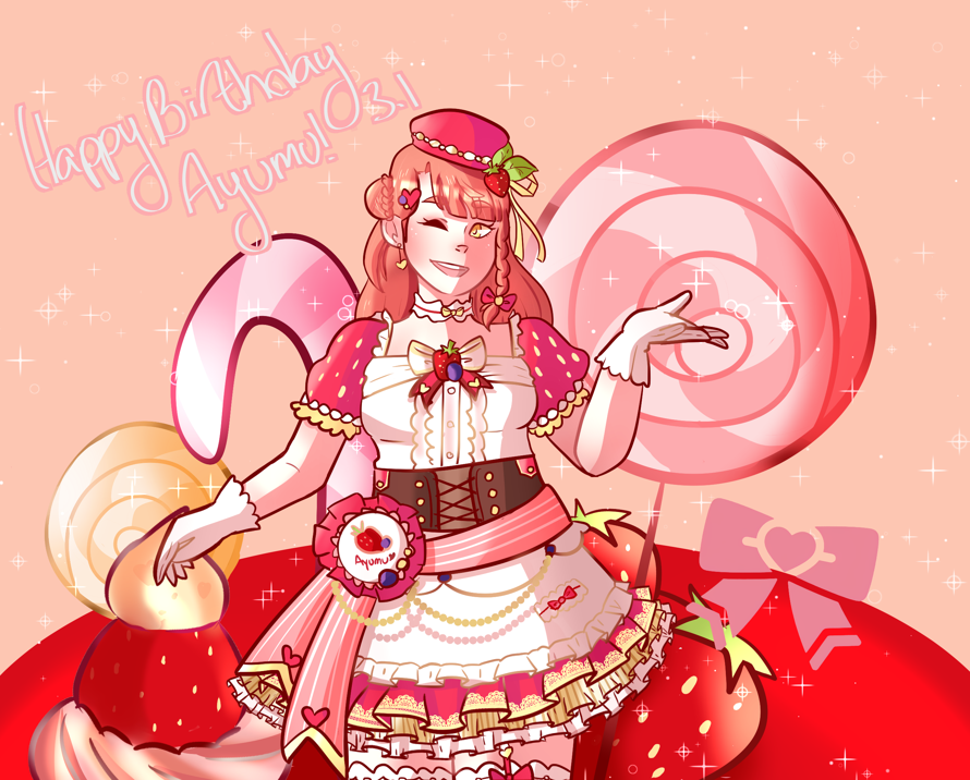 🎀❤ Happy Birthday Ayumu!! ❤🎀