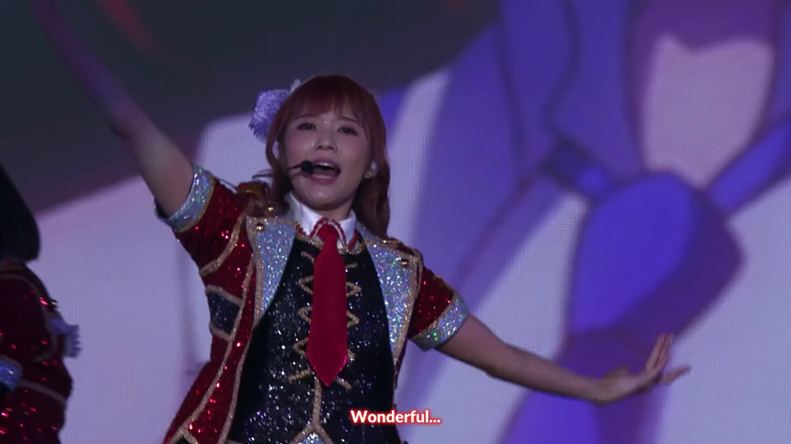 Watching a 5hr Love Live stream and...she's just so WOOOOOONDERFUL.
