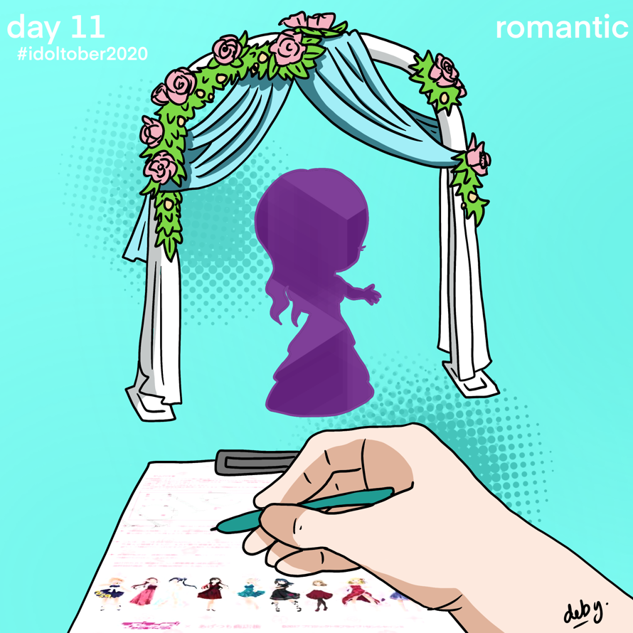 Day 11: Romantic  In Japan, you can get married with an official Love Live! Sunshine!! marriage...