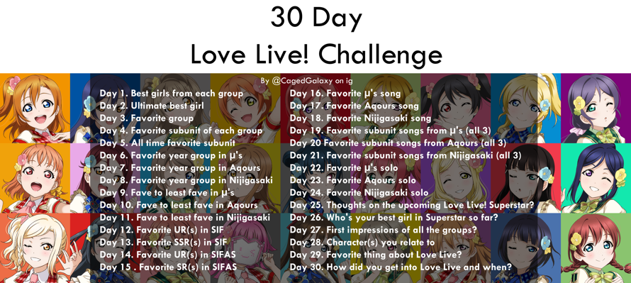 all credit goes to RiniRuby for this~! or Riru but same person lol   im on day 3 of the bandori one...
