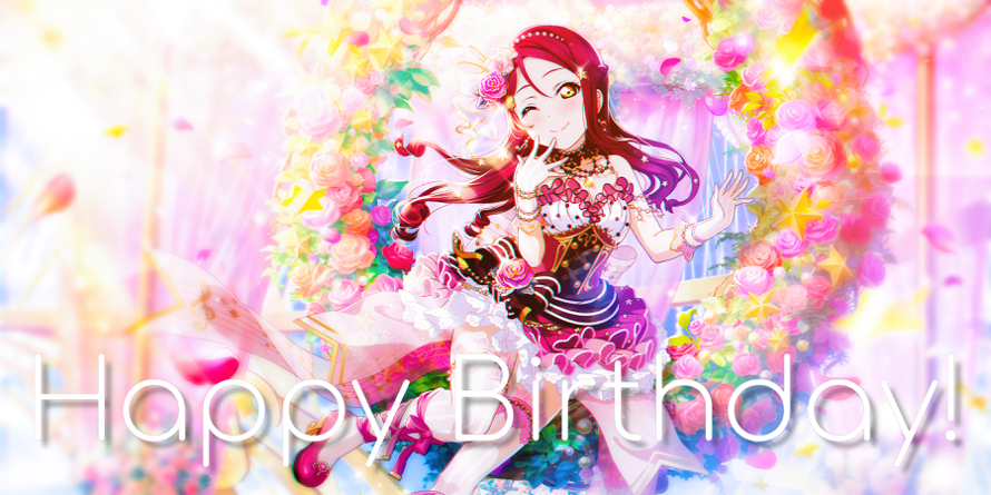 Happy Birthday, Riko! The queen of sandwiches and being a yuri manga fan! 💖🎹🥪