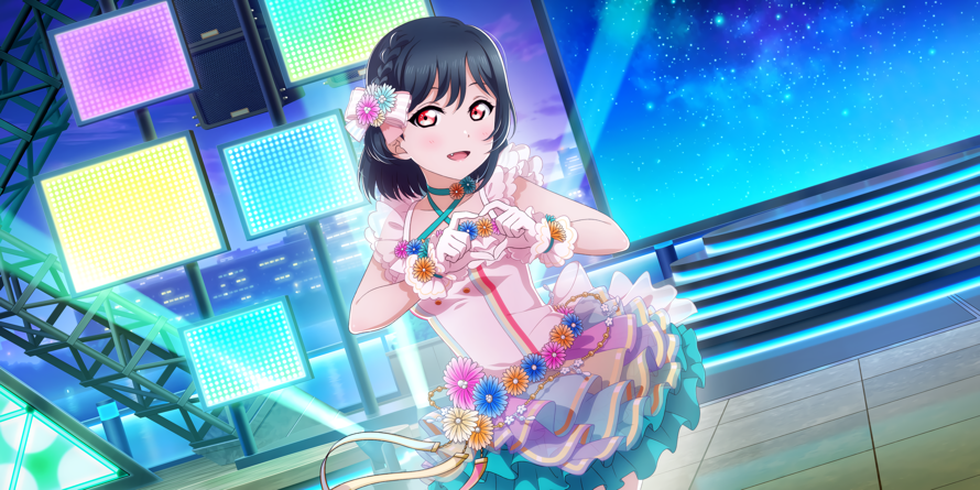 Oh my god!!!!! I literally cannot contain myself! A new Shioko card at long last! It looks so...