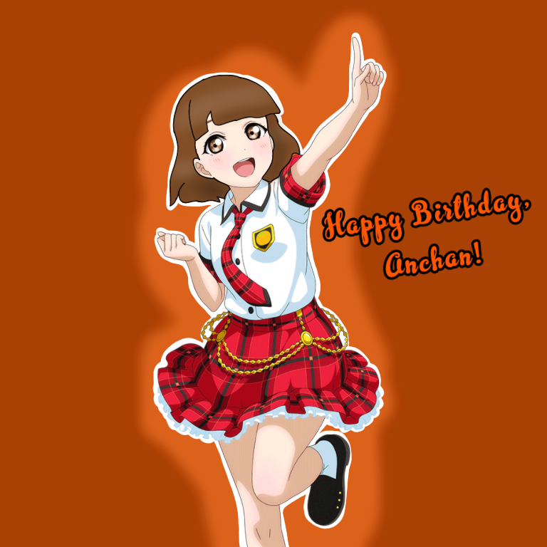 Happy birthday to Anchan!