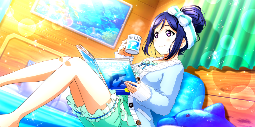 Happy Birthday, Kanan! I hope we can spend time going to the beach and dive in one day!!!