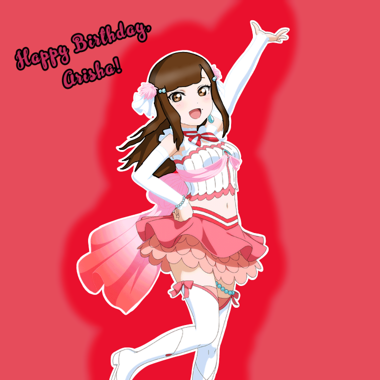 As promised, here's the edit I made for Arisha. I also have one all ready for Anchan's birthday too.