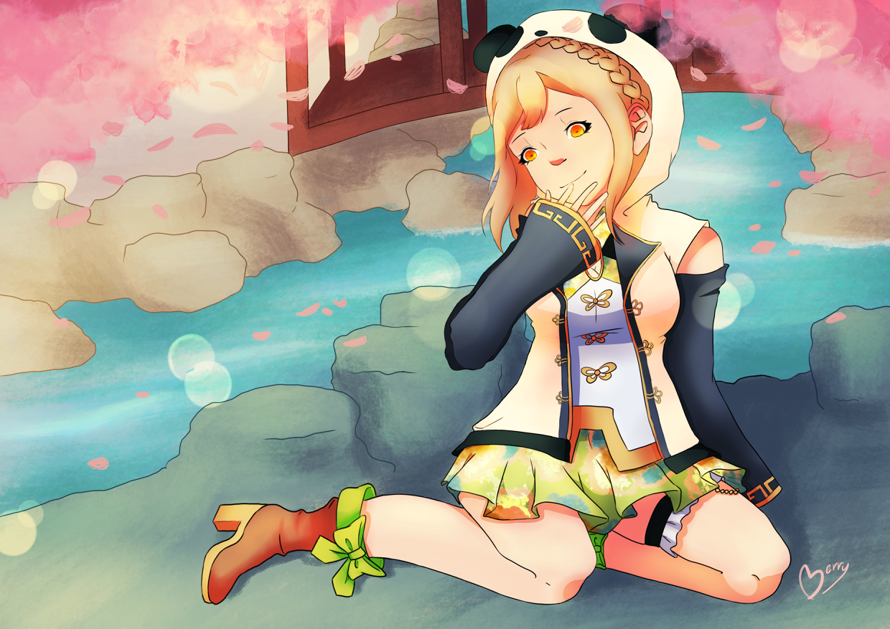 China dress maru !!