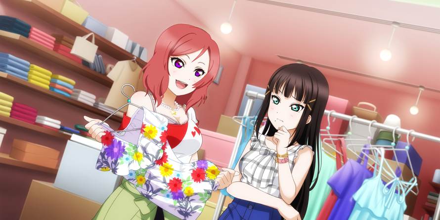Wowowoowow another edit! I think Maki and Dia could actually be very good friends^