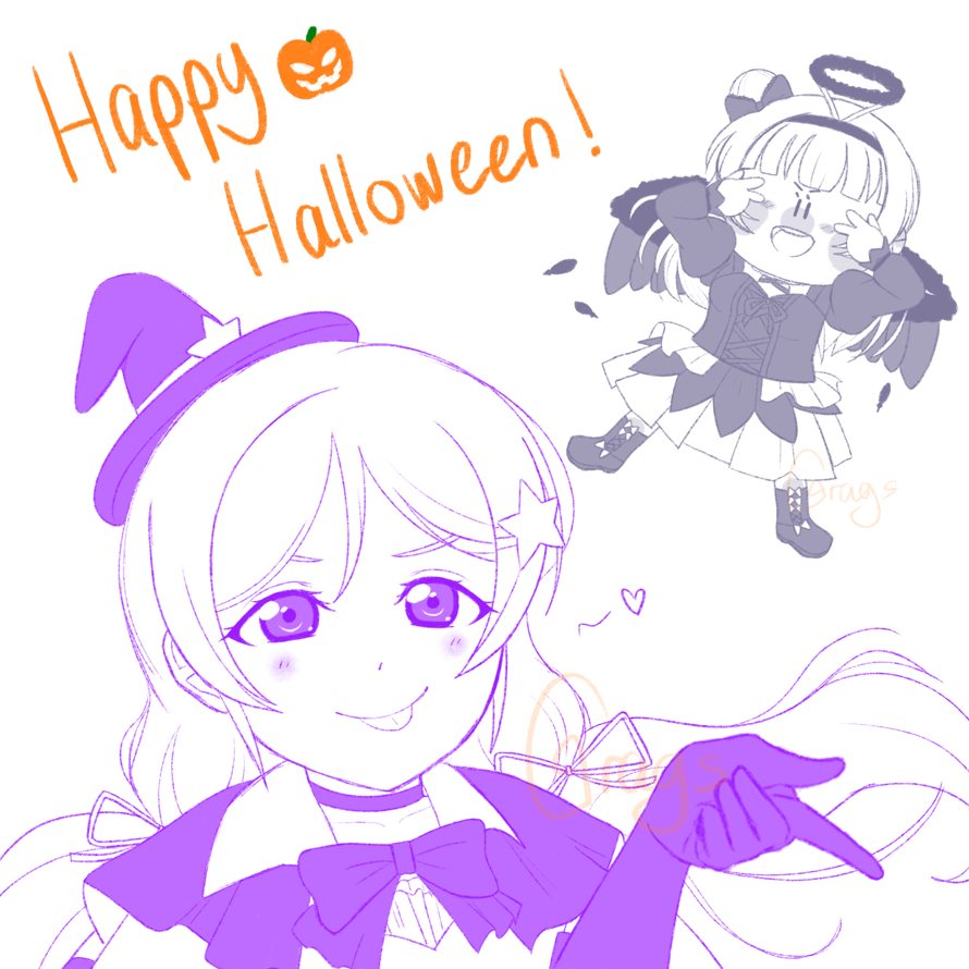 A little late but Happy Halloween!