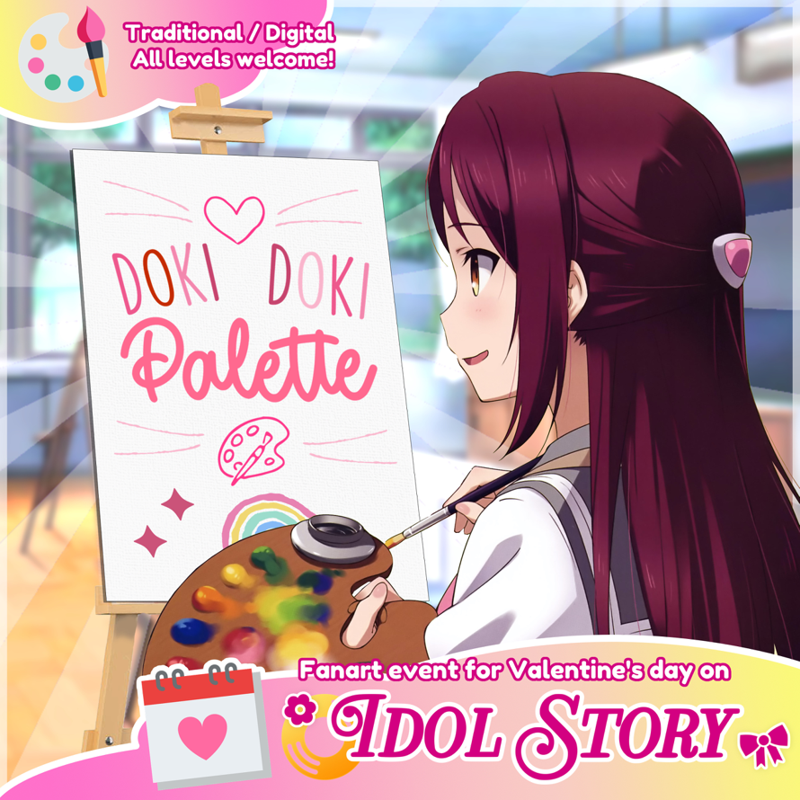 Valentine's Day   is here, and it's time to celebrate on 🌼Idol Story🎀!
