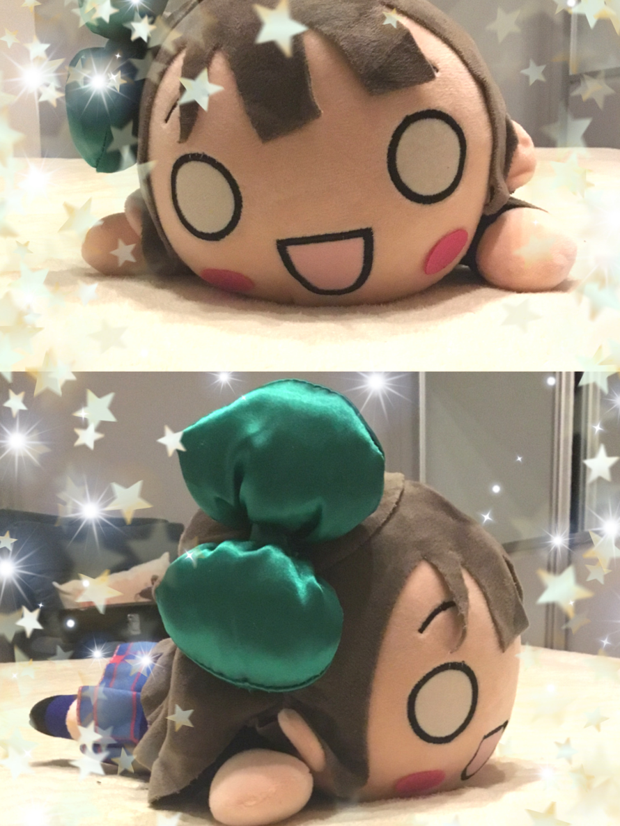 I finally have a neso and I'm soo happyy❤️❤️ Kotori is best μ's girl🐥💚