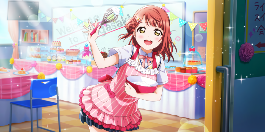 Happy Birthday, Ayumu Bun! Here's the UR card I have in my LLAS even tho I don't play that...