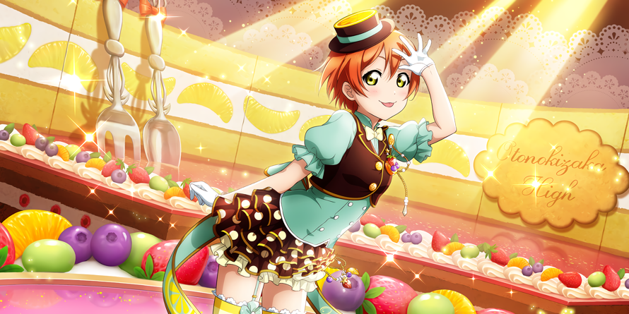 Happy Birthday To 1st Year μ's Girl, Rin Hoshizora! Her Cuteness Is So Awesome, and Her Sing, and...