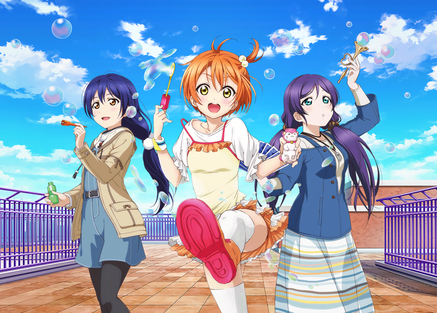Old, but I thought I'd share a simple bubble themed Lily White edit I made here. The Nozomi is the...