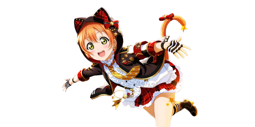 I made a transparent version of Rin's most recent UR to use for my twitter intro so everyone else...