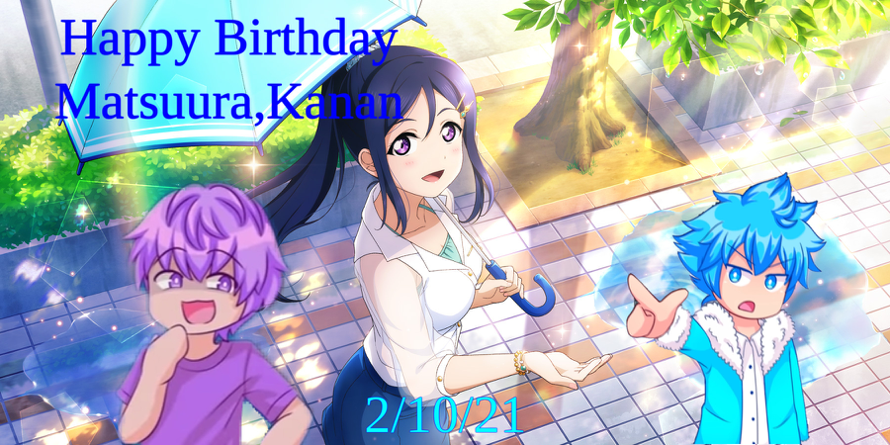 Happy Birthday Kanan,You will have the best birthday ever. I will never forget this time...