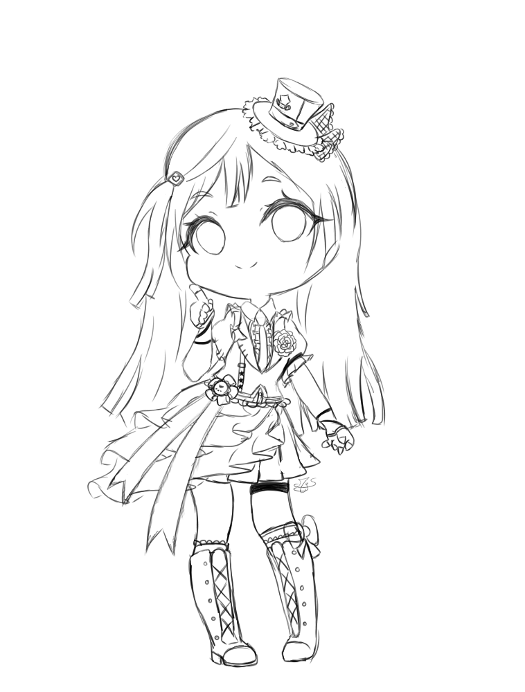 Going to draw NijiGaku girls in their Idol outfit !