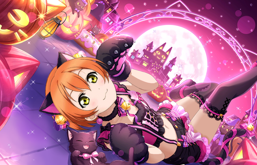 eli and nozomi's birthdays are over, so now it's time for rin! i was planning to make this edit for...