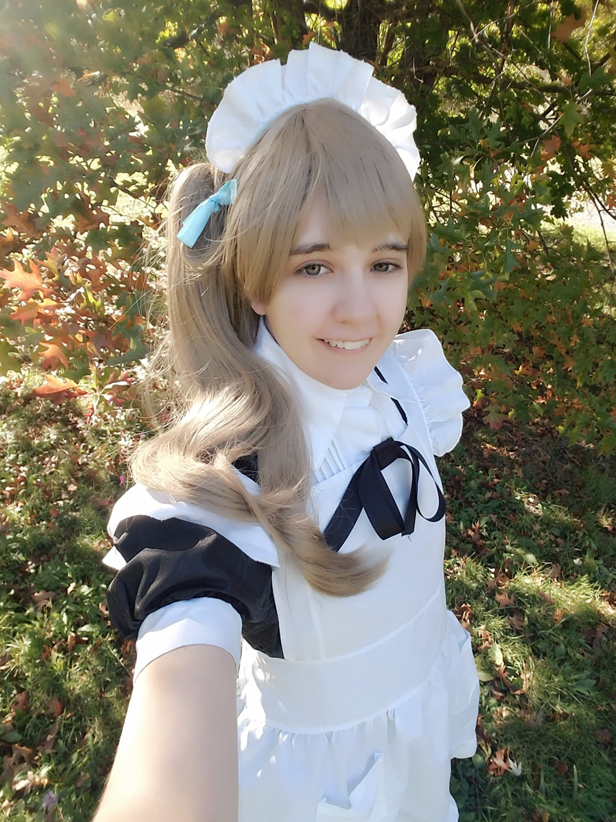 i got to cosplay kotori recently, so now i've cosplayed 2/3 of the love live girls! not counting...