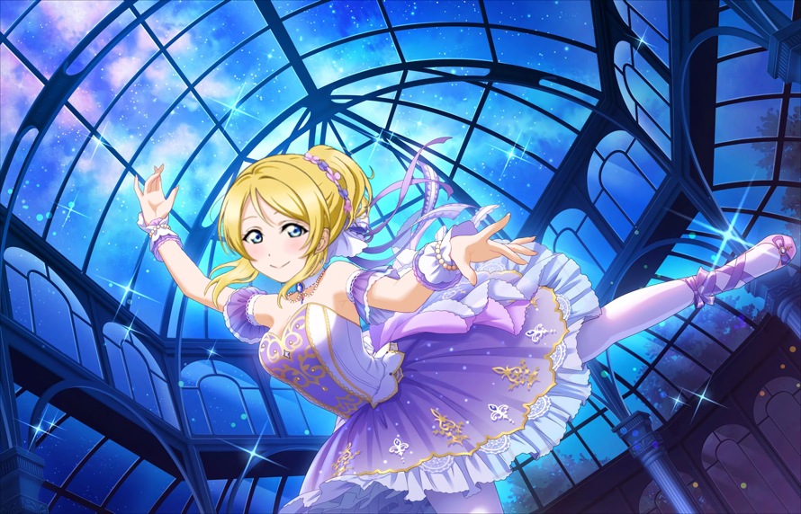 it's my first post in here and it's about eli! alongside with nozomi and rin, eli is my best girl...