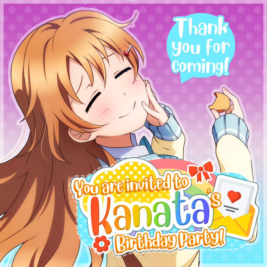 Today is   Konoe Kanata  's birthday and   you are invited!   🎉        🌟Location 🌟     🌼 Idol Story...