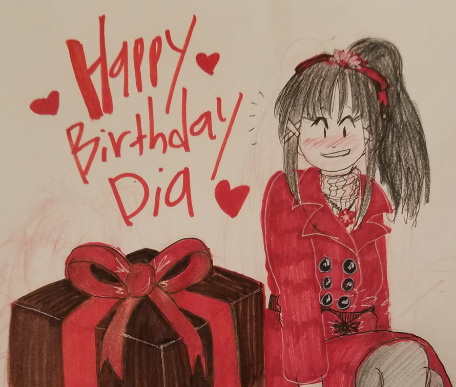 Joining the site at the right time for my best girl's birthday. My art isn't the best, but I'm still...