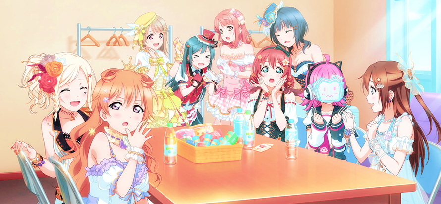 I remember, watching Love Live for the first time on TV. 