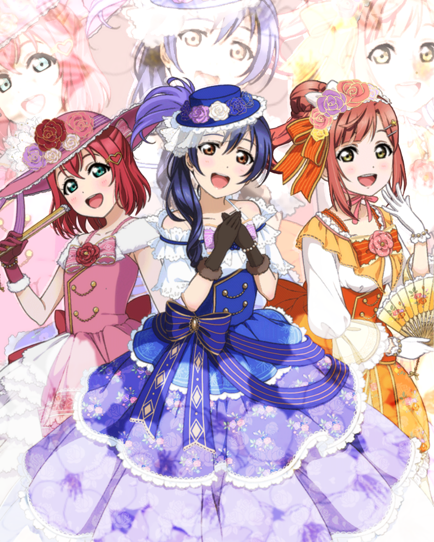 What if all three idol groups formed individual subunits? Introducing ConFIDE, featuring Umi Sonoda,...