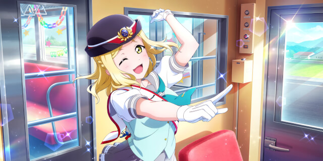 My wonderful Mari Ohara!! Oh my god, this Lovemail is gonna be a tad longer. Mari is ACTUALLY...