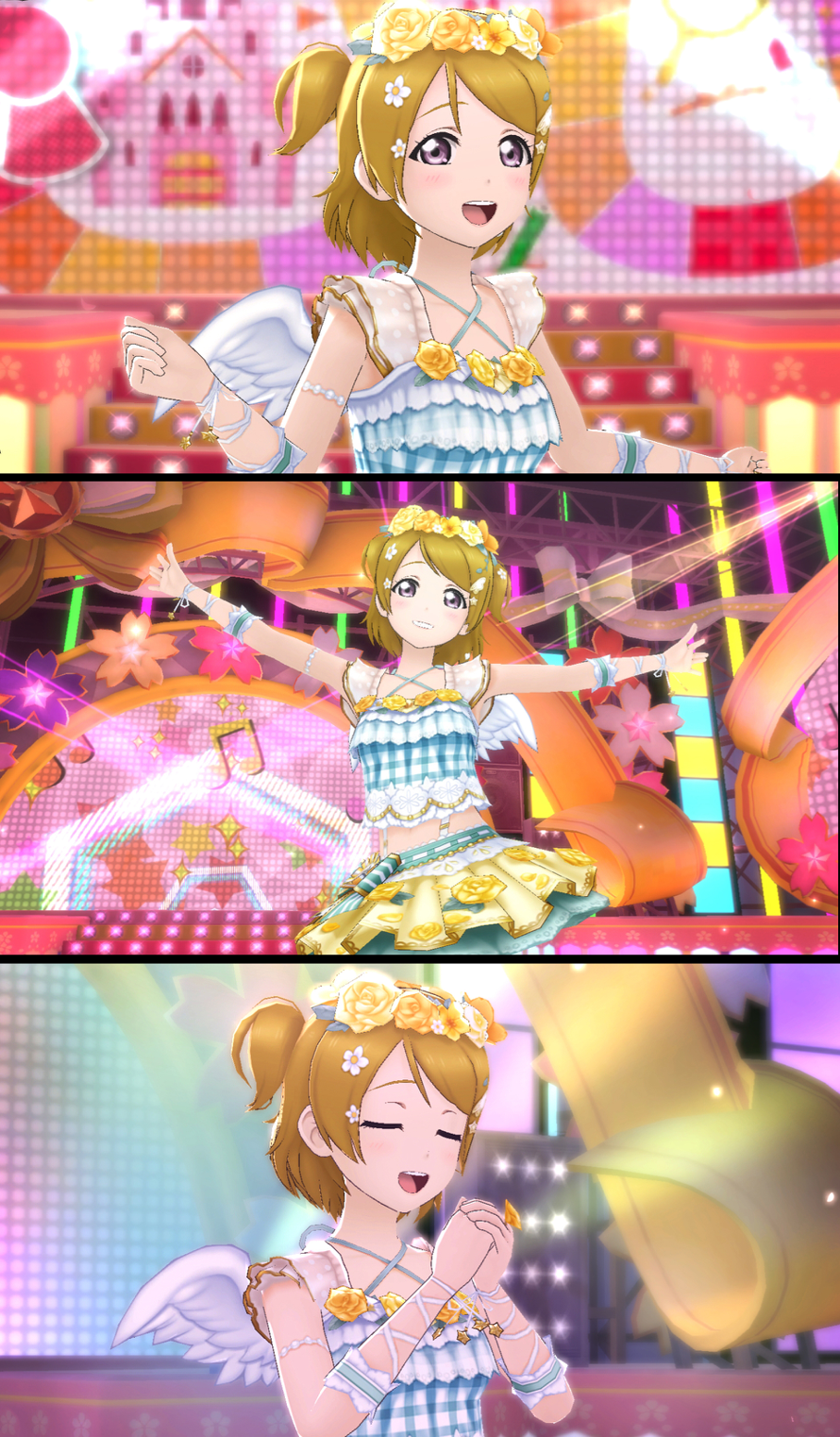 I got the event Hanayo! What a cutie. I really like this costume.