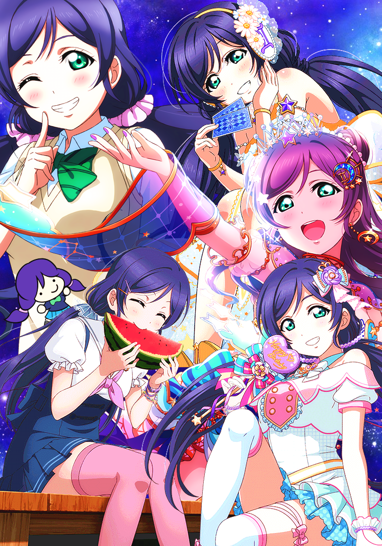 happy birthday nozomi!! you are important to me as my 2nd favorite muse girl right behind kotori,...