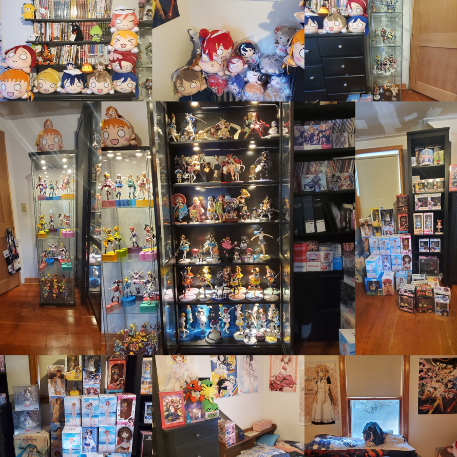 Heres an update to my collection. It's gotten so big over the last year. Starting to run out of...