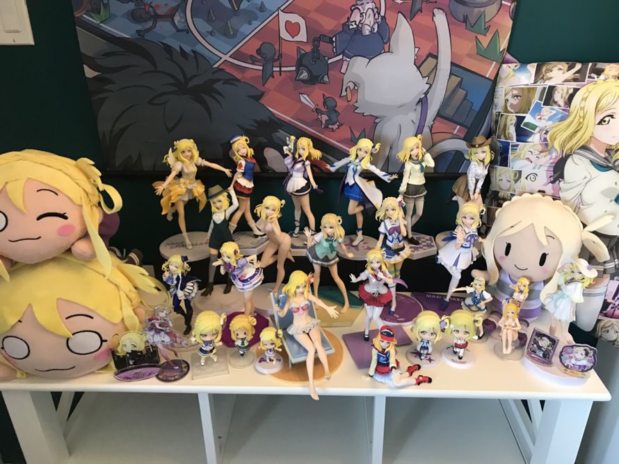 My✨shiny shrine! When I first laid eyes on her I knew there was something special about Mari Ohara....
