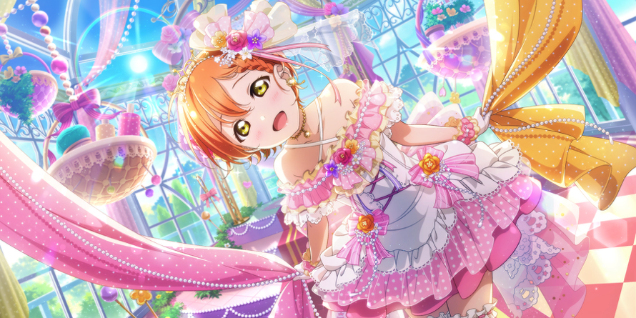 Wow! This card is so pretty! It's definitely my new favorite Rin card. Either way, I really like the...