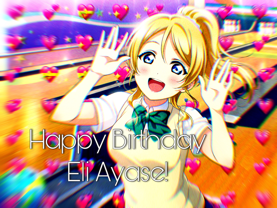 HAPPY BIRTHDAY ELİ!! ilysm   ´ω`  ♡