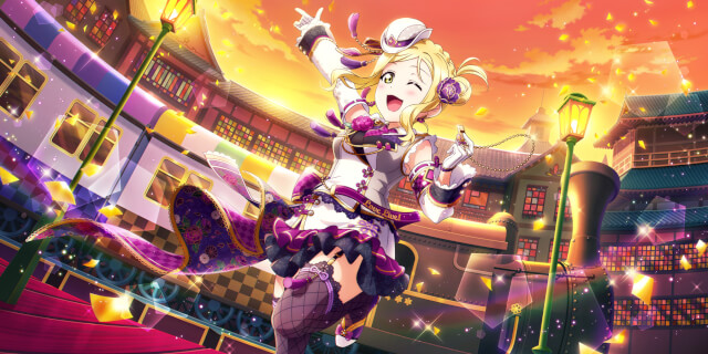 UR Ohara Mari 「Alright, Let's Go ♪ / Whistle of the Morning Star」