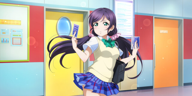 SR Toujou Nozomi 「I'll Read Your Fortune For You / Bokura no LIVE Kimi to no LIFE」