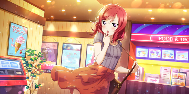 UR Nishikino Maki 「Movie Date with Maki / Scarlet Royal」