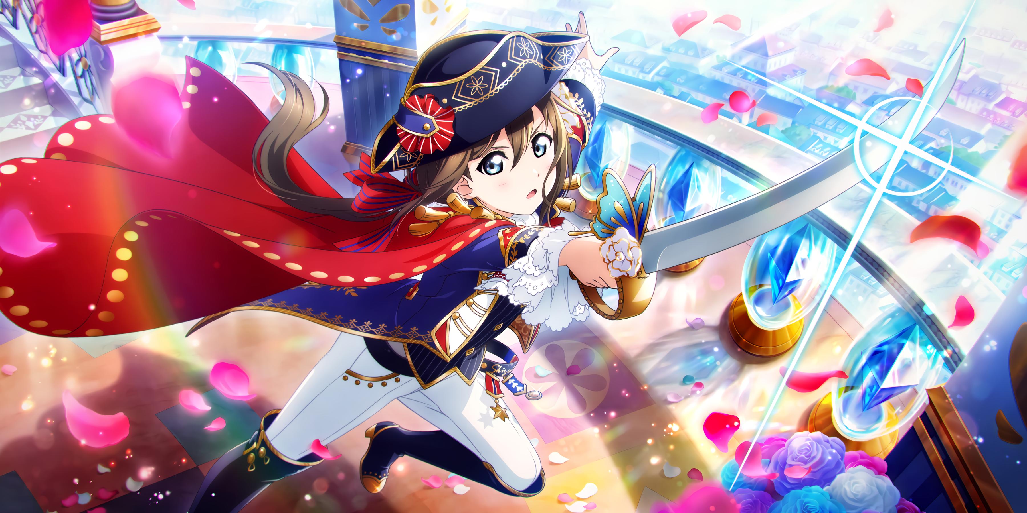 Ur Osaka Shizuku Stop It You Know How Ticklish I Am Rose Knight Cards List All Stars Idol Story Love Live