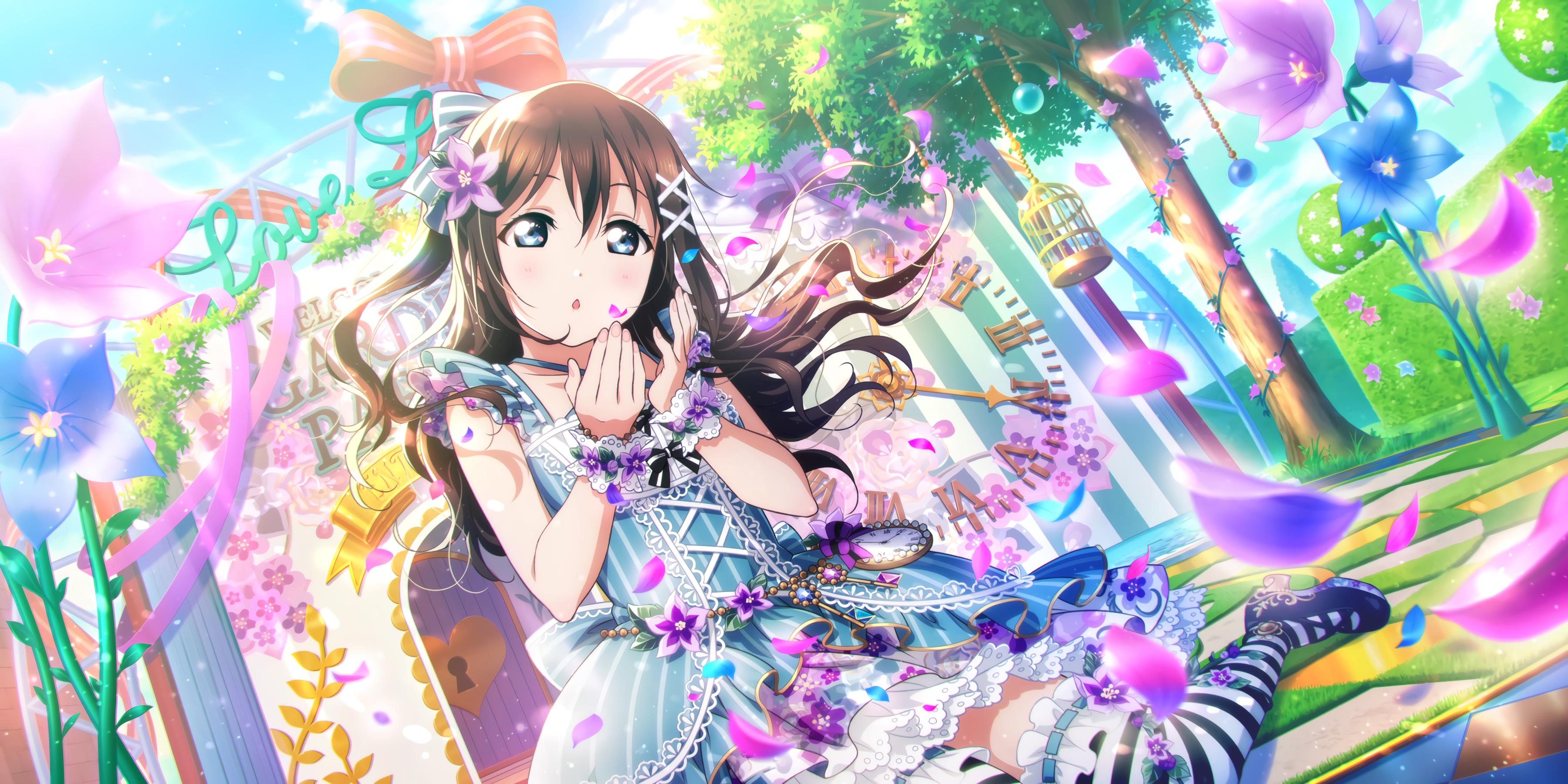 Ur Osaka Shizuku Senpai It S Definitely Here Blooming Garden Cards List All Stars Idol Story Love Live