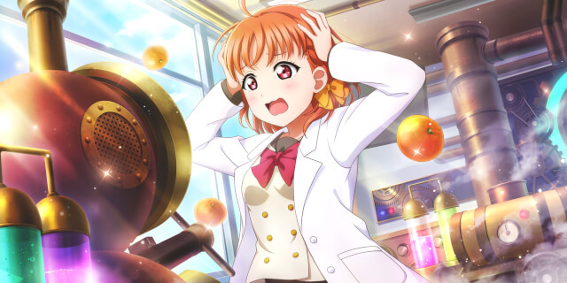 UR Takami Chika 「It's this button here...huh? / Steampunk☆Adventure」
