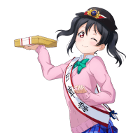 UR Yazawa Nico 「How's Nico's Special Lunches~? / Whistle of the Morning Star」