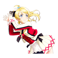 SR Ayase Eli 「Why All of a Sudden...? / It's our miraculous time」