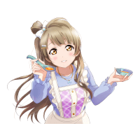 UR Minami Kotori 「Give It a Taste / Vegetable Wonderland」