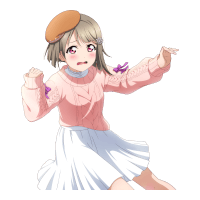 SR Nakasu Kasumi 「Eek! My Feet Are Sliding Around! / Marching in Harmony」