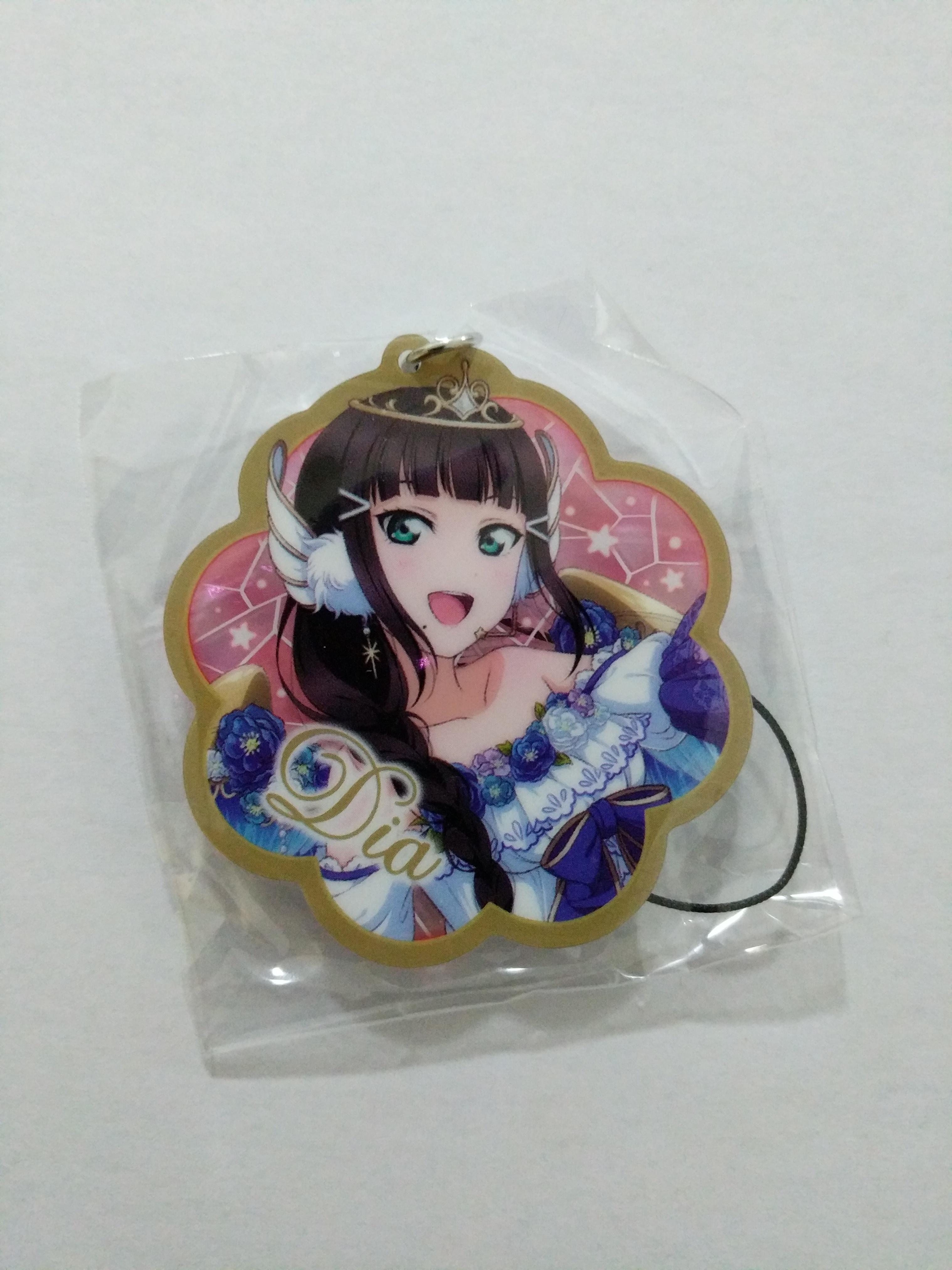 Dia angel super size acrylic keychain